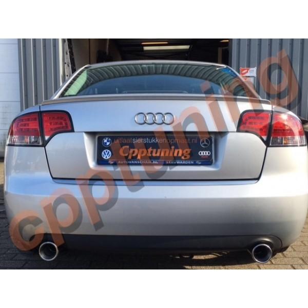 Uitlaatsierstuk las versie Audi A4 2.0 TDI 1.8 TFSI 3.0 TDI TFSi 3.2 TSI V.A 2002 T//M heden.