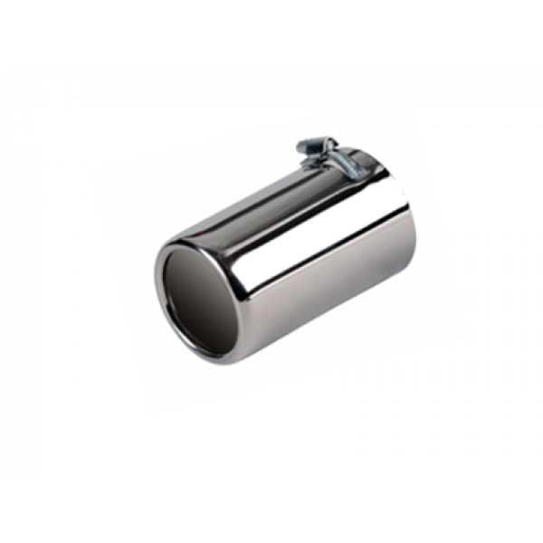 Uitlaatsierstuk RVS Rond 76mm  Passend 50-70mm