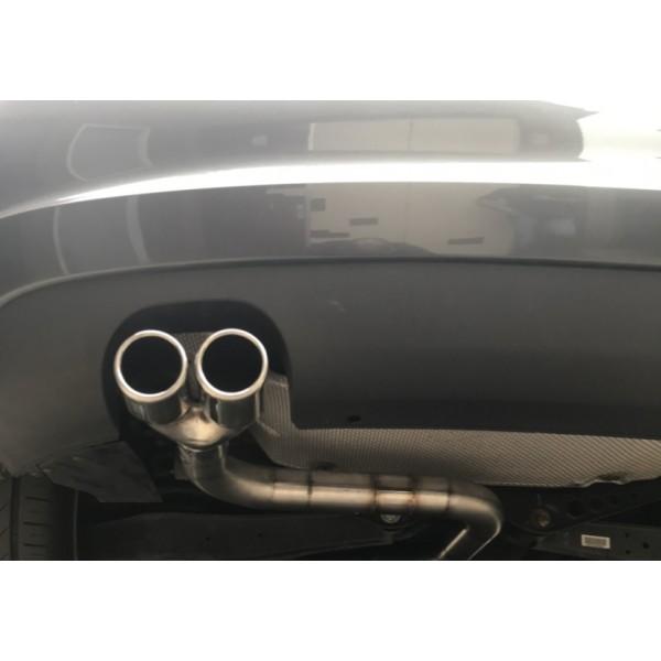 Audi A3 S3 einddemper delete v.a 2003 t/m 2012.