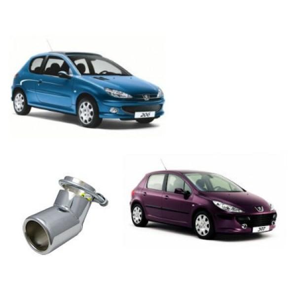 Uitlaatsierstuk Peugeot 206/307 benzine-diesel modellen.