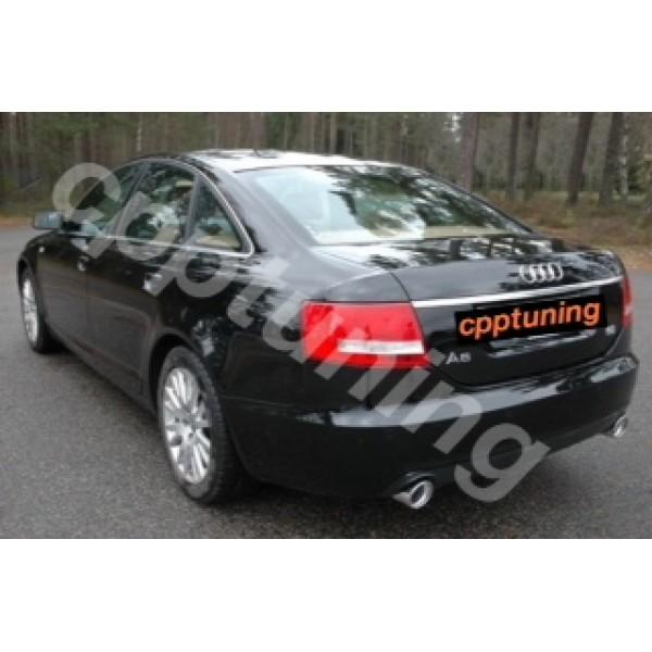 Uitlaatsierstuk las versie Audi A6 2.0 TDI 1.8 TFSI 3.0 TDI TFSi 3.2 TSI. V.A 2001 T/M heden.