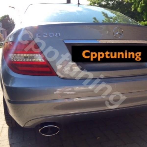 Uitlaatsierstuk Mercedes Benz C-klasse benzine-Diesel W204.
