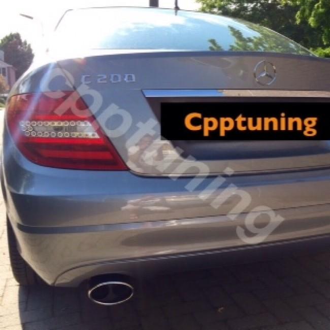 Uitlaatsierstuk Mercedes Benz C Klasse Benzine Diesel W204