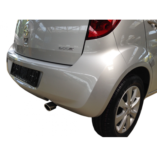 Uitlaatsierstuk Opel Agila 2008 enkel sierstuk.