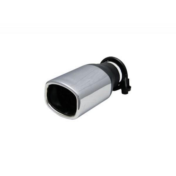 Uitlaatsierstuk rechthoek 65x80mm Passend 35-52mm.