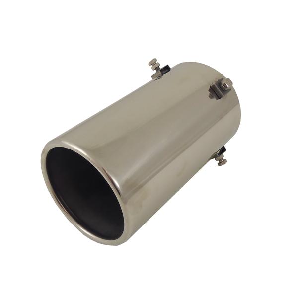 Uitlaatsierstuk RVS Rond 100mm - Passend 76-90mm